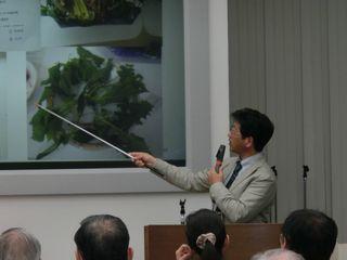 渡邊先生講演風景